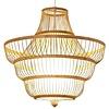Fine Asianliving Fine Asianliving Deckenleuchte Pendelleuchte Beleuchtung Bambus Lampenschirm Handgefertigt - Jayla