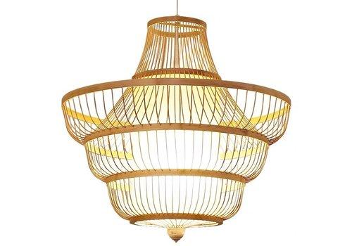 Fine Asianliving Ceiling Light Bamboo Lampshade Handmade - Jayla
