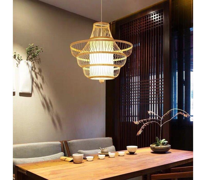 Fine Asianliving Lampara de techo Bambú Lampara Colgante Hecho a mano - Jayla