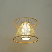Fine Asianliving Deckenleuchte Bambus Lampe Handgefertigt - Naomi