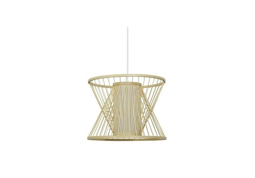 Fine Asianliving Ceiling Light Bamboo Lampshade Handmade - Naomi