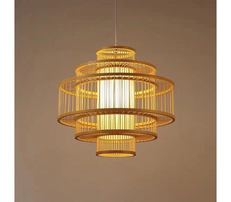 Bamboe Hanglamp Handgemaakt - Lena D50cm