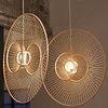 Fine Asianliving Fine Asianliving Ceiling Light Bamboo Lampshade Handmade - Gracious D60cm