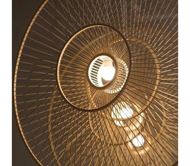 Suspension en Bambou Fait Main - Gracieuse D.60cm