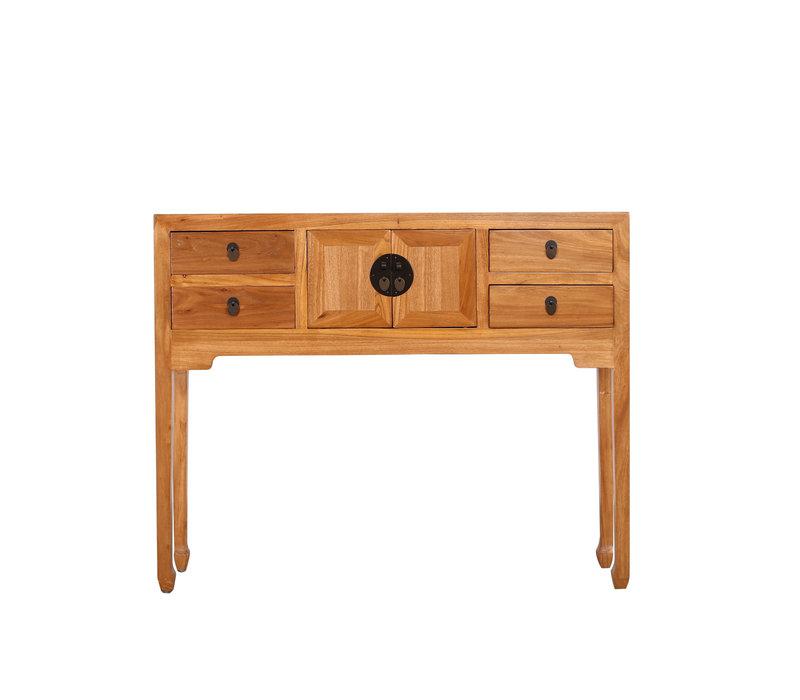 Fine Asianliving Collection de tables de chevet chinoises Nature