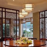 Fine Asianliving Ceiling Light Bamboo Lampshade Handmade - Adeline