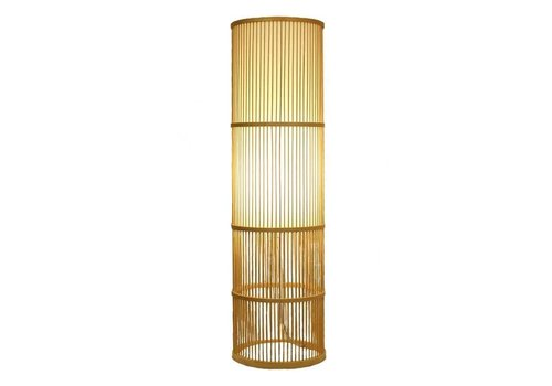 Fine Asianliving Fine Asianliving Floor Standing Light Bamboo Handmade Leslie H100cm