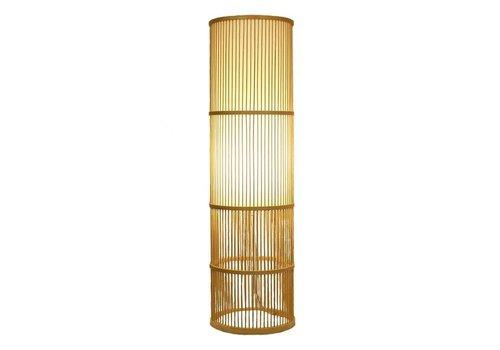 Fine Asianliving Lampada da Terra in Bambù Fatta a Mano - Leslie H100cm