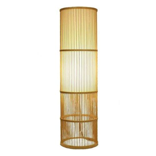 Bamboe Vloerlamp Handgemaakt Leslie - H100cm