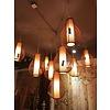 Fine Asianliving Fine Asianliving Ceiling Light Bamboo Lampshade Handmade - Amber