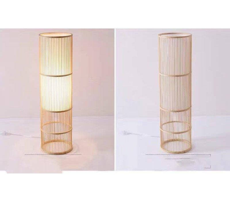 Fine Asianliving Floor Standing Light Bamboo Handmade Leslie H100cm