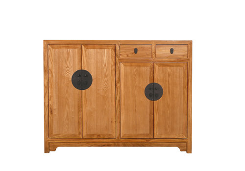 Fine Asianliving Chinese Cabinet Nature Collection