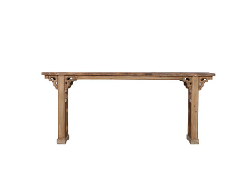 Fine Asianliving Table d'Autel Antique Fine Asianliving Artisanale Naturelle