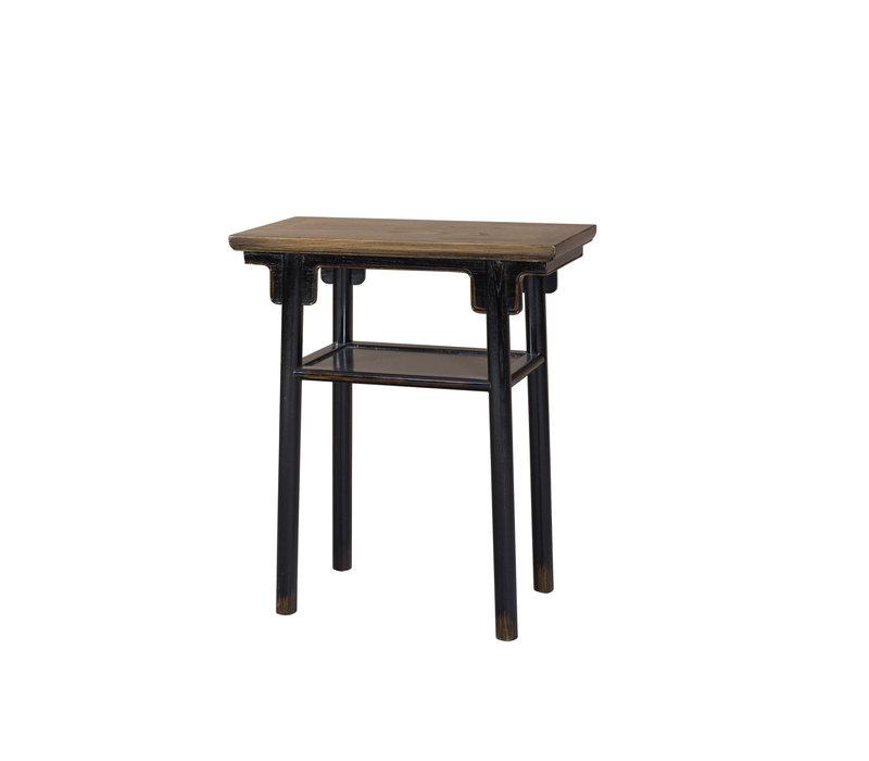Chinese Elmwood Plant Table