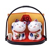 Fine Asianliving Lucky Cats Set/2 Happy Couple