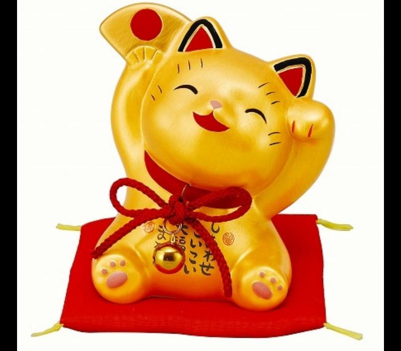 Chat Porte-Bonheur Heureux d'Or