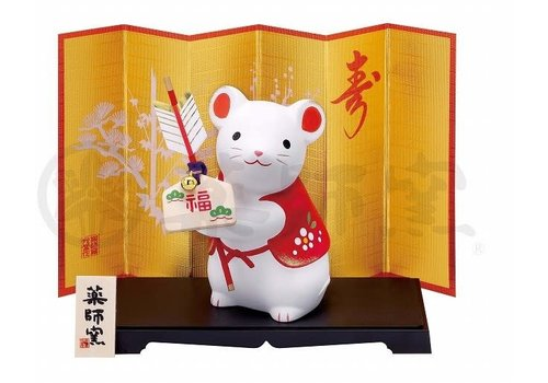 Fine Asianliving Lucky Rat Zodiac 2020 Flag of Luck - Limited Edition