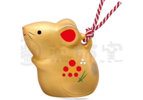 Fine Asianliving Lucky Rat Zodiac 2020 Gold - Limited Edition