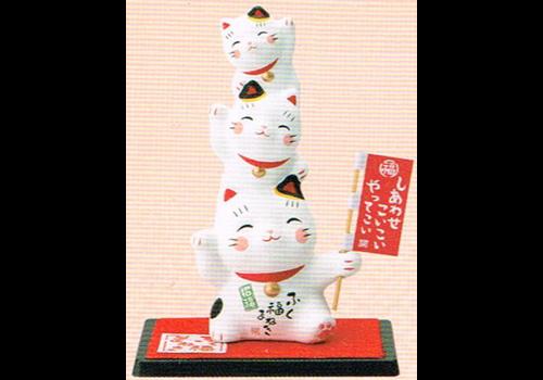 Fine Asianliving Lucky Cats Vrolijk