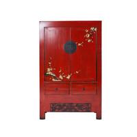 Chinois de mariée Sakura Vintage Red Spring