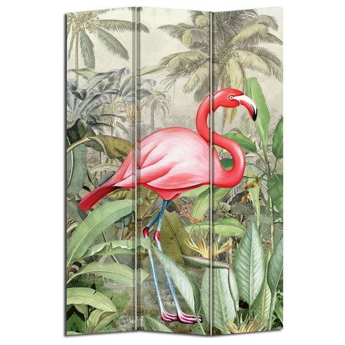 PREORDER WEEK 10 Kamerscherm Botanic Garden Flamingo BD19P015A