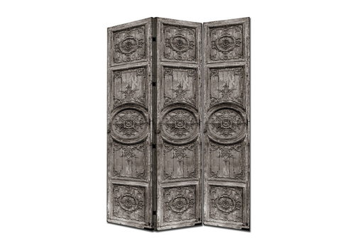 Fine Asianliving PREORDER 26/11/2020 Fine Asianliving Room Divider Privacy Screen 3 panel Indian Doors L120xH180cm