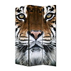 Fine Asianliving Room Divider Privacy Screen 3 Panels W120xH180cm Tiger