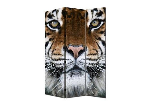 Fine Asianliving Raumteiler Trennwand B120xH180cm 3-teilig Tiger