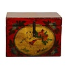 Fine Asianliving Antique Chinese Storage Trunk Hand Painted Vintage Style - Child with fruits