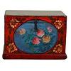 Fine Asianliving Meuble de Rangement Chinois Antique Peint à la Main Style Vintage - Fleurs C