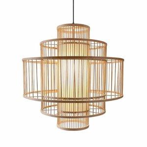 Fine Asianliving Fine Asianliving Ceiling Light Bamboo Lampshade Handmade - Lena D50cm