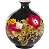 Fine Asianliving Chinese Vase Porcelain Handmade Wheat Straw Black H29.5cm