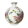 Fine Asianliving Chinese Vase Porcelain Handpainted Birds Flowers H29.5cm
