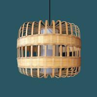 Lámpara de Techo Colgante de Bambú Hecha a Mano - Belinda