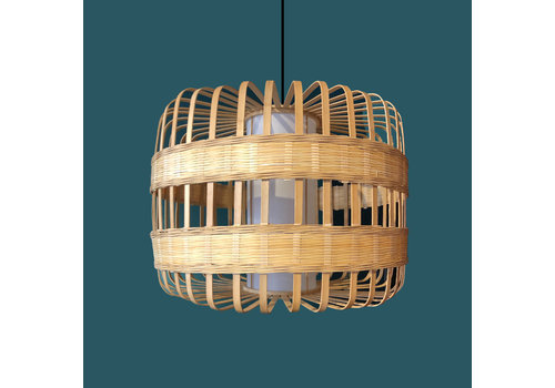 Fine Asianliving Ceiling Light Pendant Lighting Bamboo Handmade - Belinda