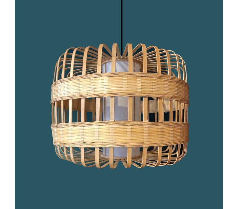 Lampada a Sospensione in Bambù Fatta a Mano - Belinda