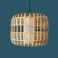 Pendelleuchte Hängelampe Bambus Handgefertigt - Bretagne