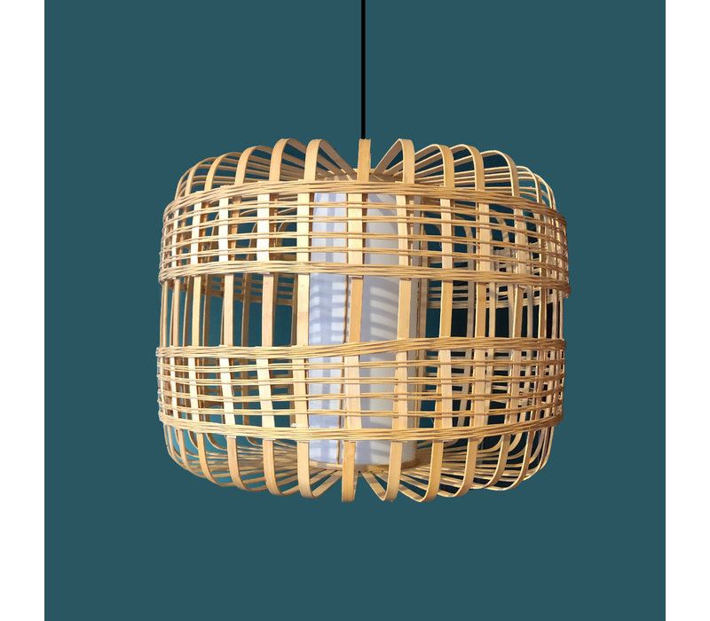 Ceiling Light Pendant Lighting Bamboo Handmade - Brittany