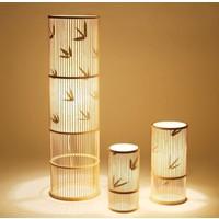 Table Lamp Bamboo Handmade Designed (S size) – Ellen
