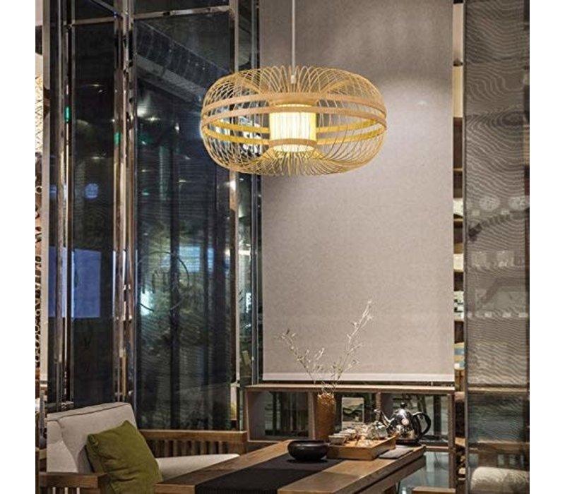 Deckenleuchte Pendelleuchte Beleuchtung Bambus Lampenschirm Handgefertigt - Fiona