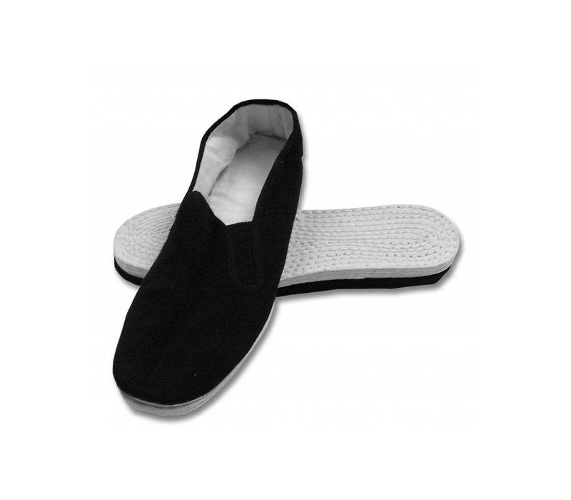 Tai Chi Kung Fu Schuhe Unisex Weiße Sohle 37 EU Chinesische Traditionelle Peking-Stil Schuhe
