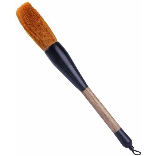 Chinese Calligraphy Brush Wood Brown