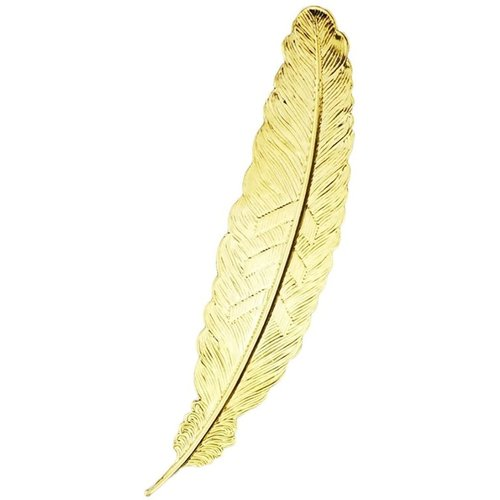 Bookmark Feather Metal - Gold