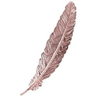 Fine Asianliving Bookmark Feather Metal - Rose Gold