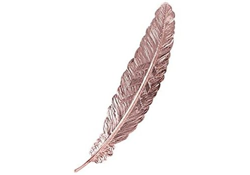Fine Asianliving Fine Asianliving Bookmark Feather Metal - Rose Gold