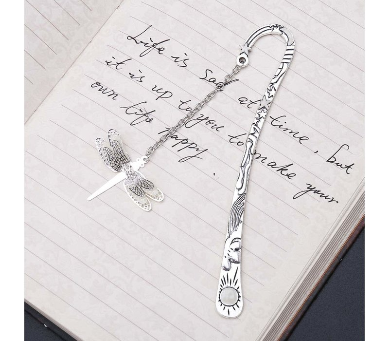 Fine Asianliving Bookmark Glow in the Dark - Dragonfly 12.5cm