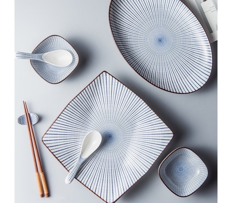 Fine Asianliving Japans Servies Nippon Chigusa Selection - Rechthoekig Bord 24.8x11.5cm