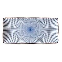 Fine Asianliving Japanese Tableware Nippon Chigusa Selection - Rectangle Plate 18x11.5cm