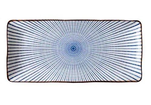 Fine Asianliving Japans Servies Nippon Chigusa Selection - Rechthoekig Bord 24.8x11.5cm