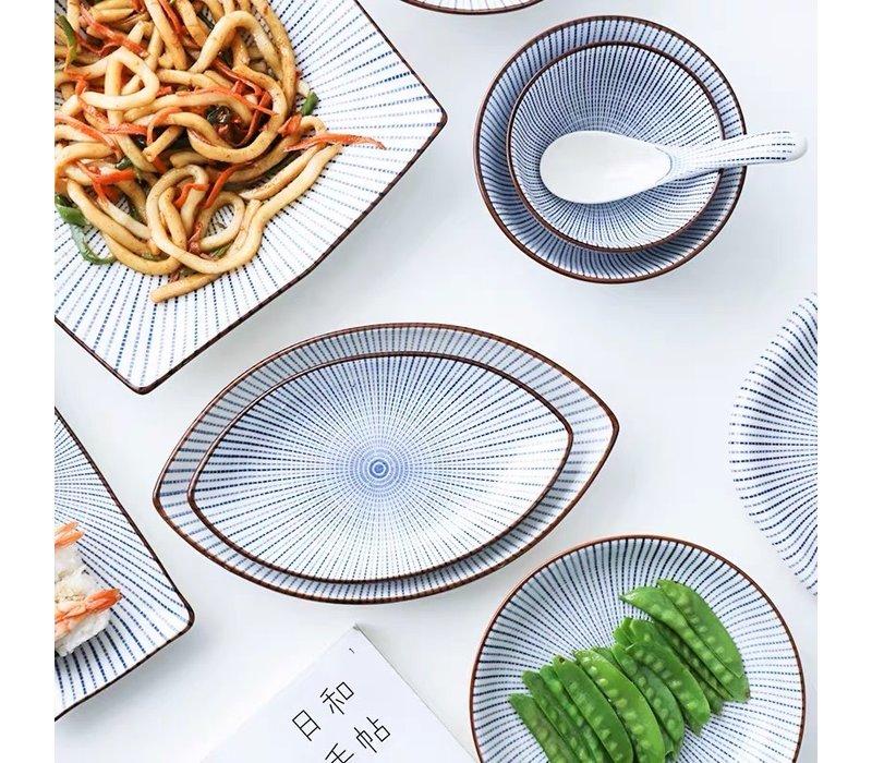 Fine Asianliving Japans Servies Nippon Chigusa Selection - Dinerbord 21x2.5cm